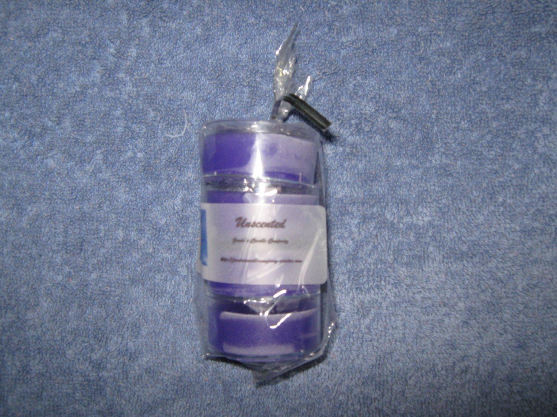 Unscented Lavender 4 Pack Teealight Set