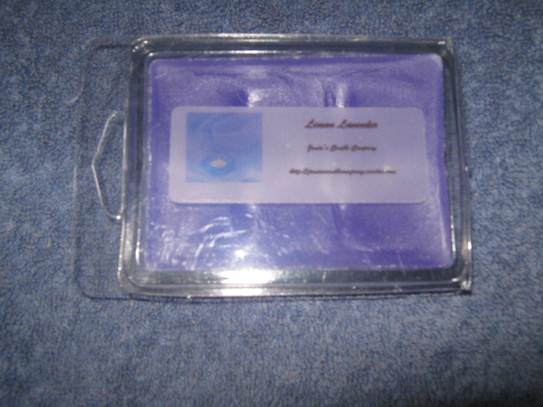 Lemon Lavender 6 Pack Tart Candle Set