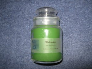 Watermelon 5 Ounce Apothecary Jar Candle