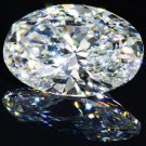 Oval Diamond 1 Carat  D Color  IF Clarity Very Good Cut Excellent Polish GIA Verifiable Report
