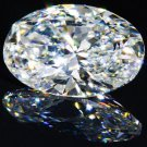 Oval Diamond 3 Carat D Color FL Clarity Very Good Cut Excellent Polish GIA Verifiable Report