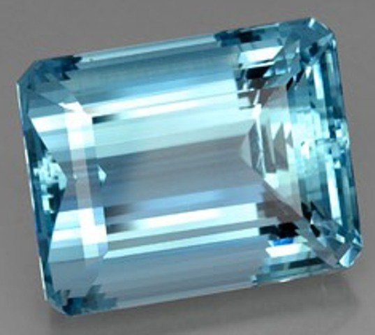 AQUAMARINE 40 CARATS 22.00 x 17.47 x 13.86 mm AIGS CERTIFIED