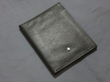MB Genuine Leather Passport Holder Wallet