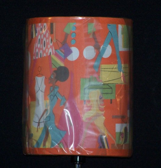 Mod Trendy Shopping Diva Girl Lady Lamp Retro NEW