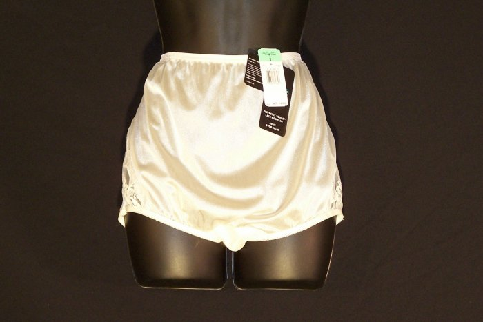 Vanity Fair Nylon Panties Beige 8 Brand NEW NWT