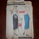 Vintage 40's-50's Wrap Maternity Skirt Pattern