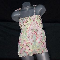 Boho Babydoll Top Shirt Tube Top M Excellent Condition!