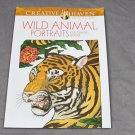 Creative Haven Wild Animal Portraits Coloring Book Dover Adult Coloring