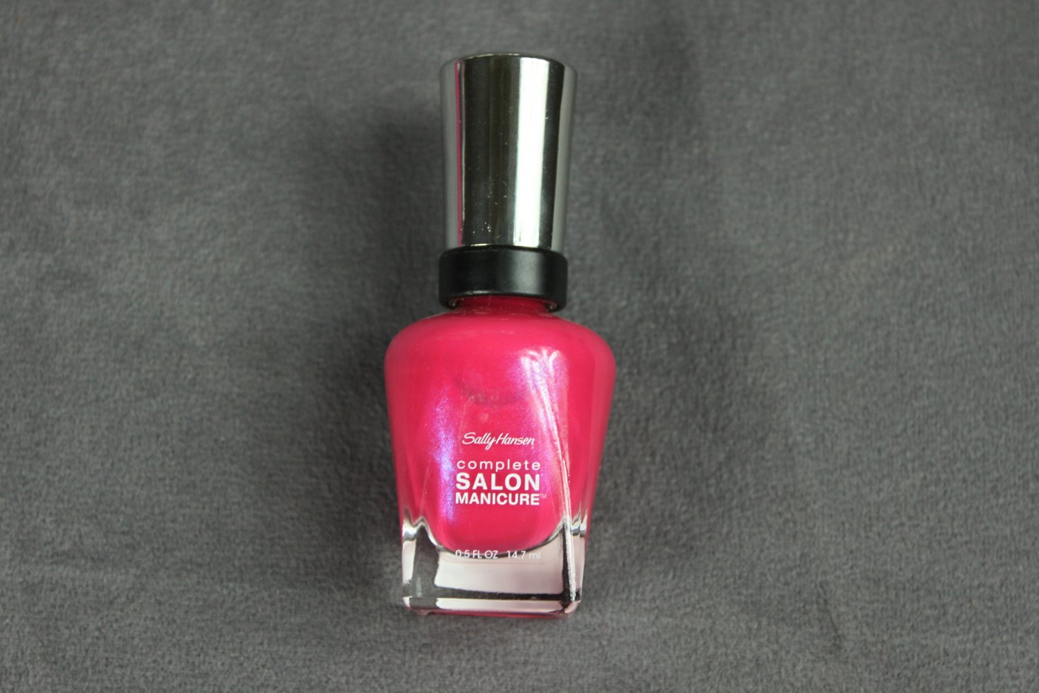 Sally Hansen BACK TO THE FUCHSIA Complete Salon Manicure Nail Polish