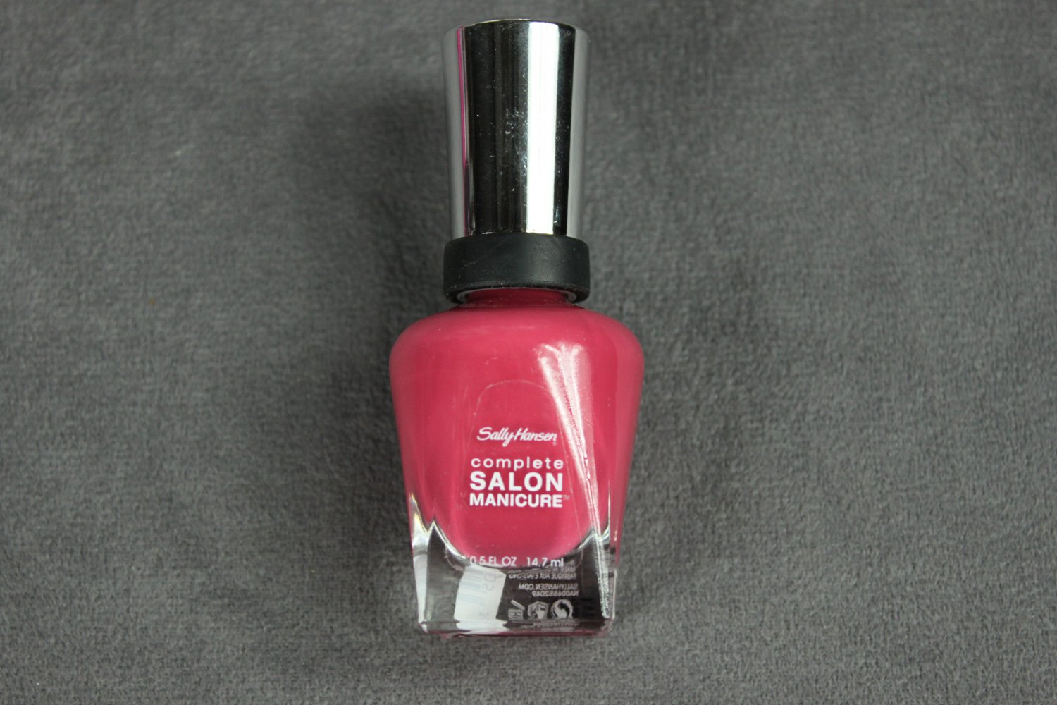 Sally Hansen Nail Polish SCARLET LACQUER Complete Salon Manicure