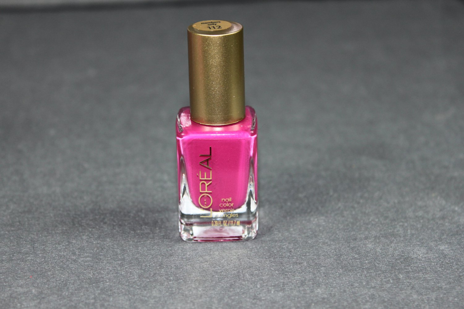 Loreal MEMBERS ONLY Nail Polish #112