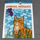 Creative Haven Animal Mosaics Dover Adult Coloring Book
