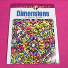 Creative Haven Dimensions Dover Adult Coloring Book