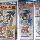 Zoids Art Statue Vol 3 - Color Set of 5 - Tomy