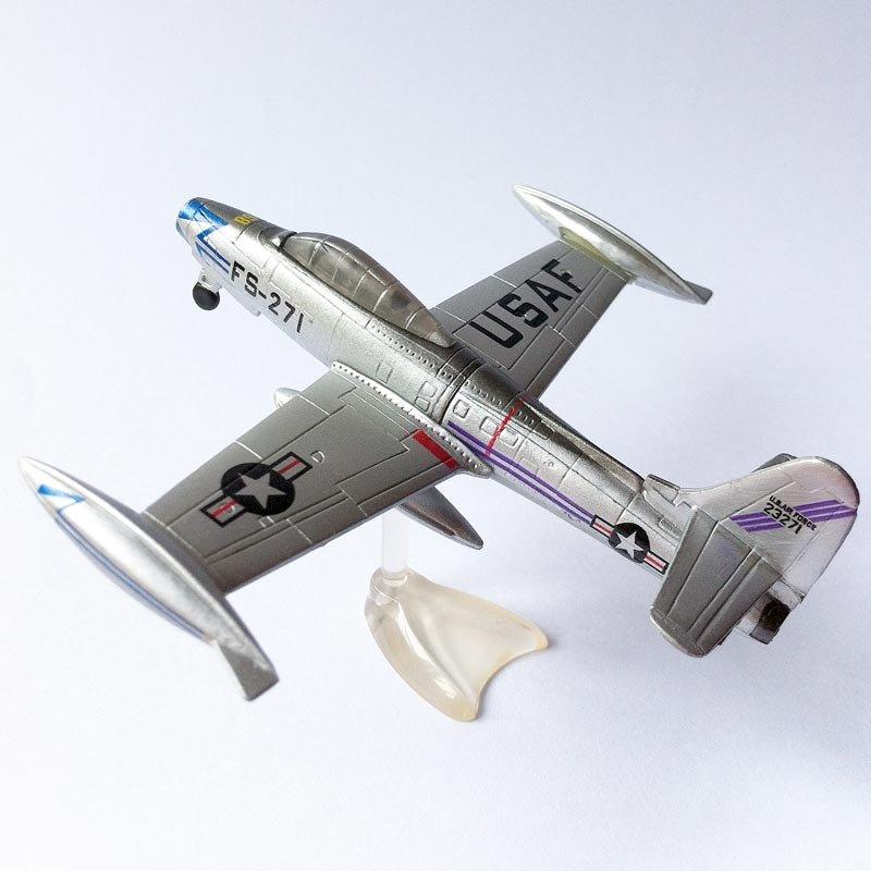 Chocoegg Warplane - Republic F84 Thunderjet - Furuta