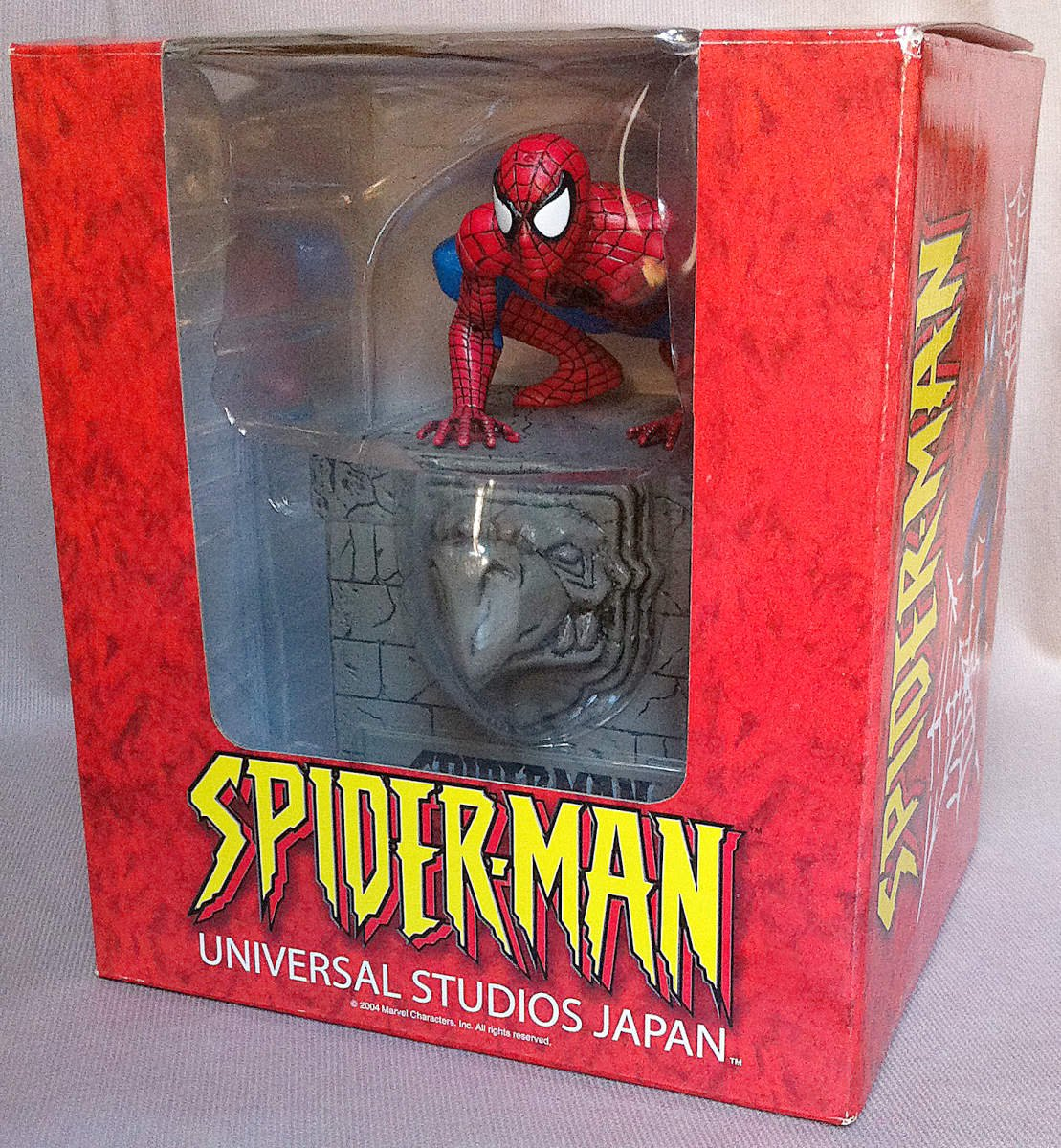 Universal Studios Japan Spider-Man Cookie Box