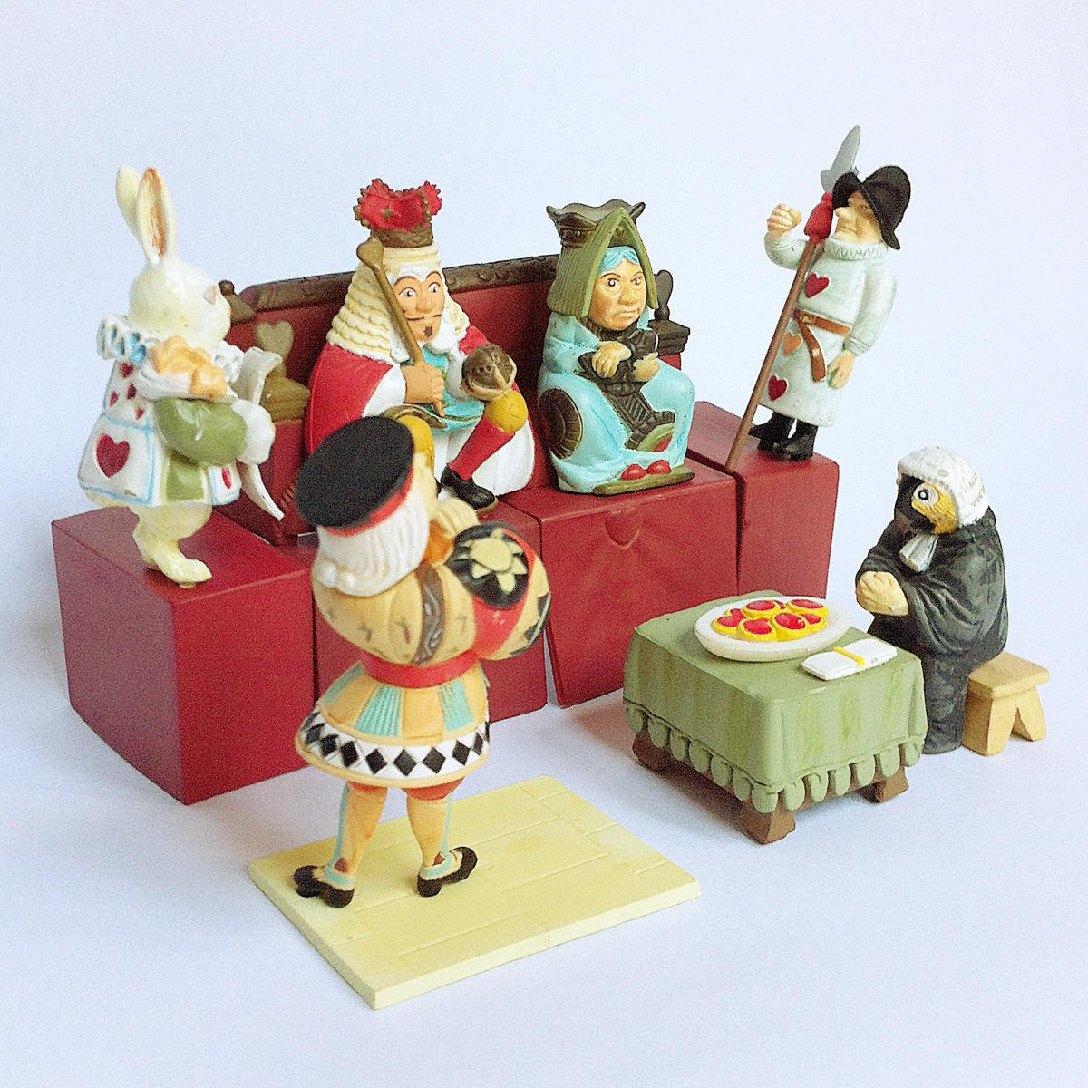 Alice in Dollland Part 2 Complete set of 16 figures by Furuta