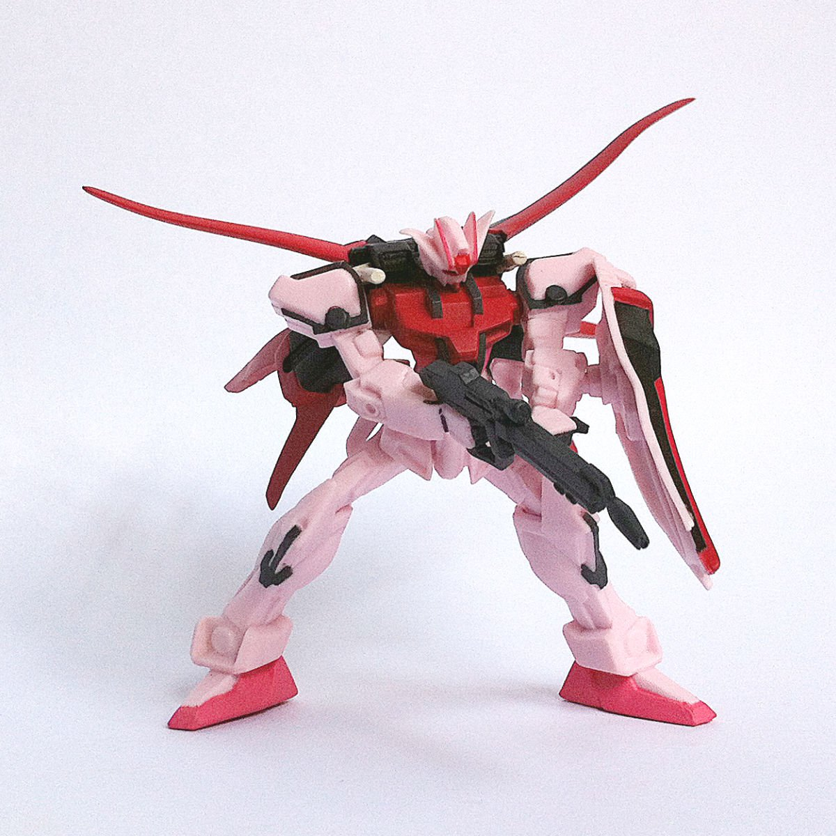 MBF-02+AQM/E-X01 Aile Strike Rouge from HG Gundam MS Selection by Bandai