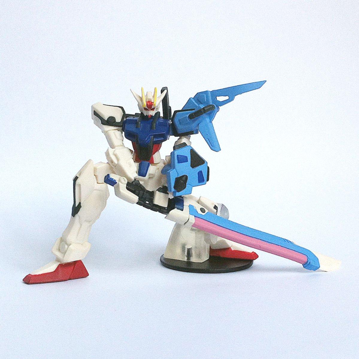 GAT-X105+AQM/E-X02 Sword Strike Gundam from HG Gundam MS Selection by Bandai