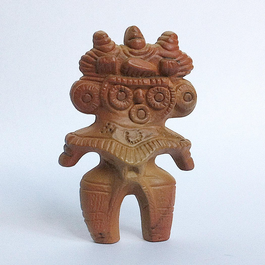 Horned-owl type figurine from History Museum Haniwa & Dogū + Earthenware by Epoch