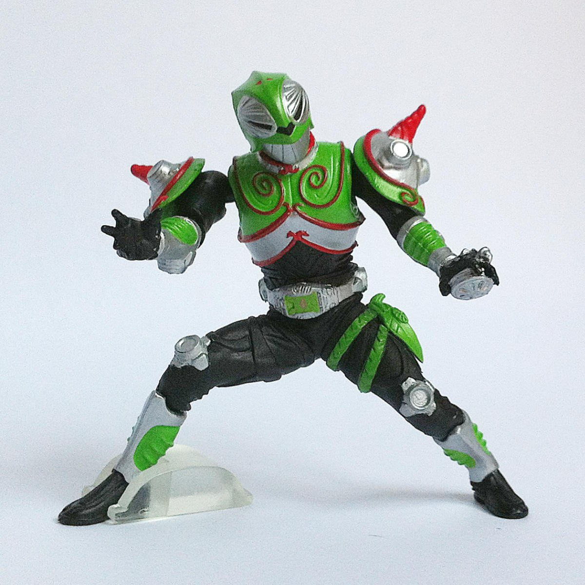 Kamen Rider Verde from Kamen Rider Action Pose 2 by Bandai