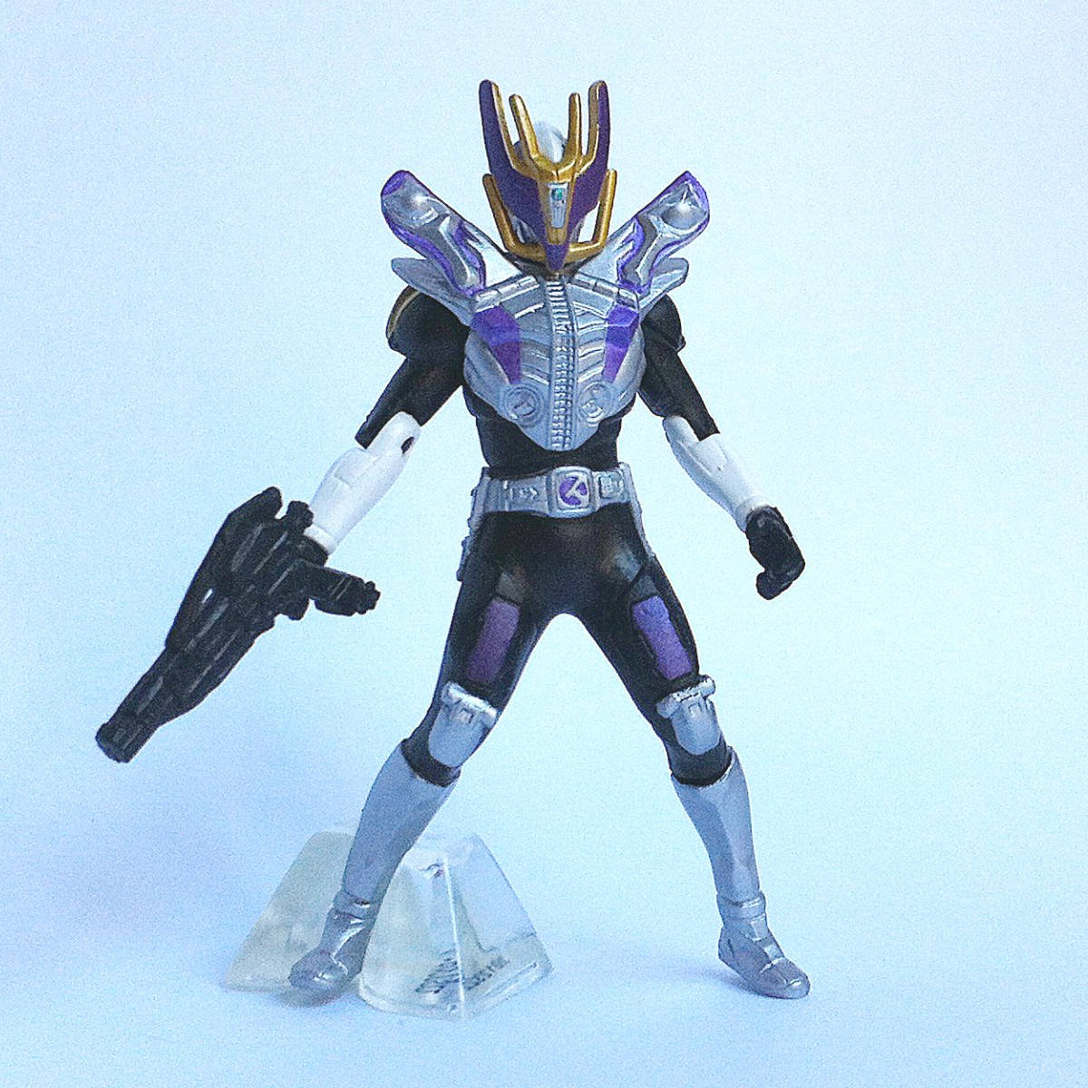 Kamen Rider Den-O Gun Form from Kamen Rider Action Pose by Bandai