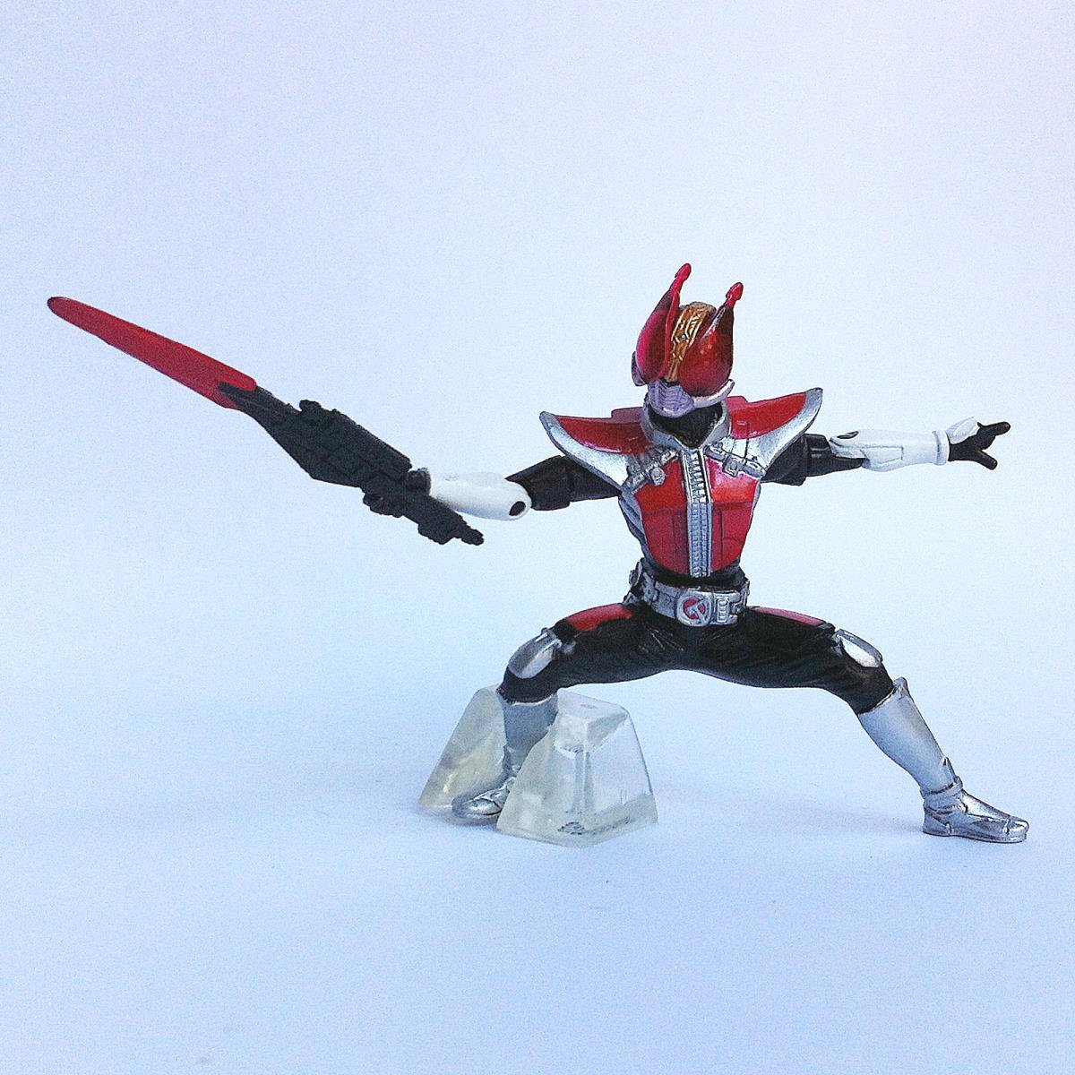 Kamen Rider Den-O Sword Form from Kamen Rider Action Pose by Bandai