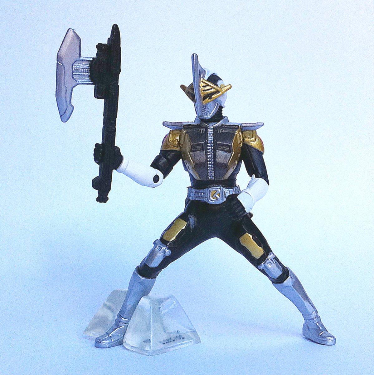 Kamen Rider Den-O Ax Form from Kamen Rider Action Pose by Bandai