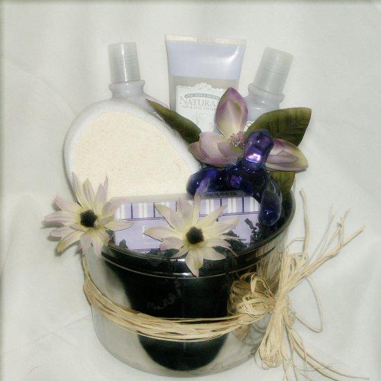 Jasmine Rose Spa Retreat Gift Basket