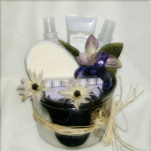 Jasmine Rose Spa Retreat Gift Basket
