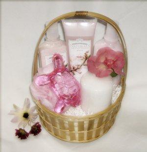 Japanese Cherry Blossom Spa Gift Basket