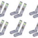 Real Madrid socks 6 pairs for kids (grey color)