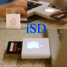 iSD - White color USB slot adaptor for Apple lovers