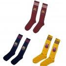 Barcelona soccer socks 3 color set