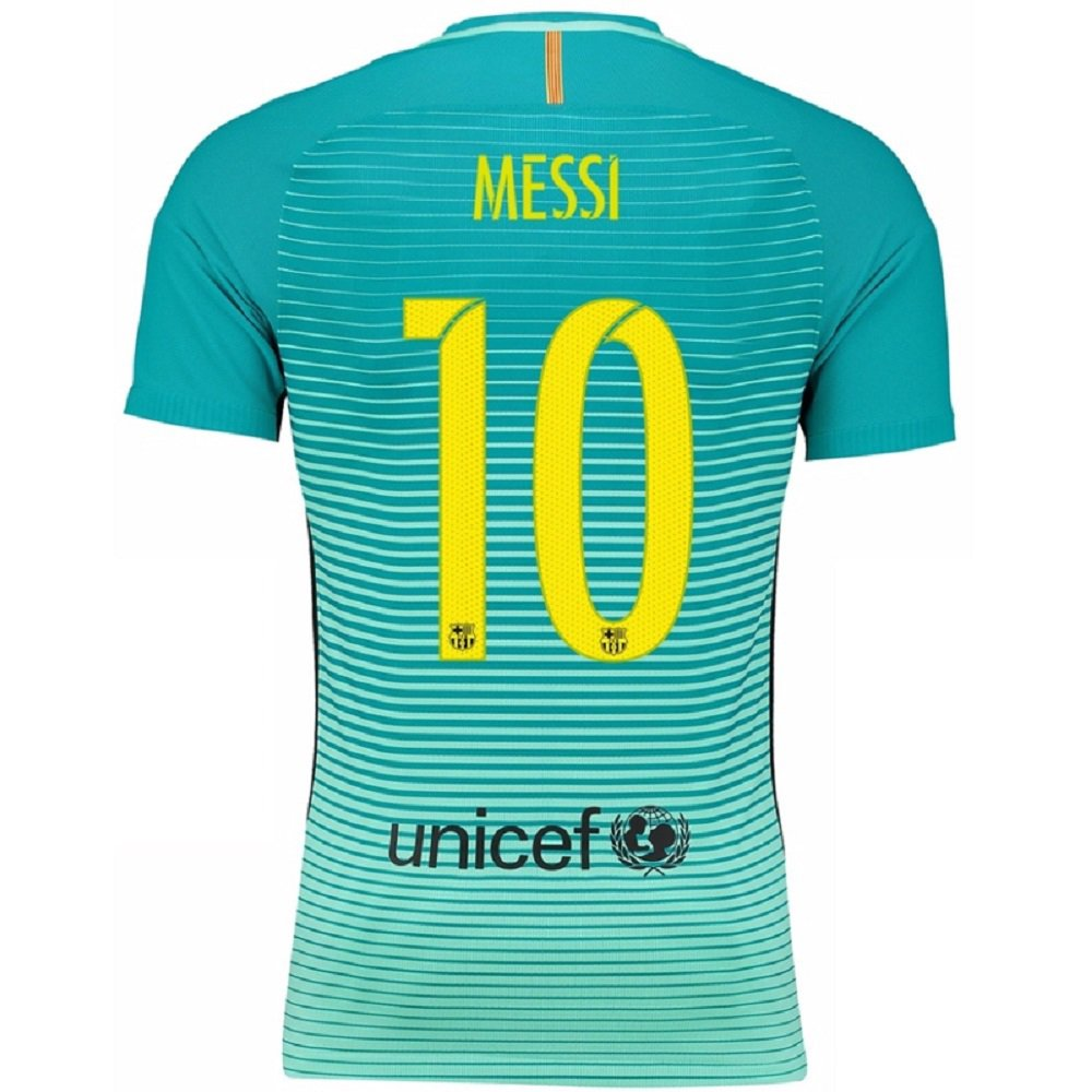 Barcelona  10 Messi UEFA Away jersey kid youth for age 6-8 a396eecff