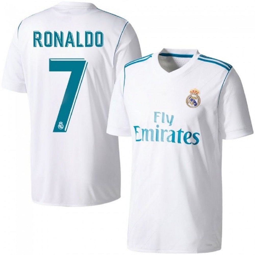Real Madrid  7 Ronaldo Home jersey kid youth for age 8-10 (2018 Season) 576ff21c6