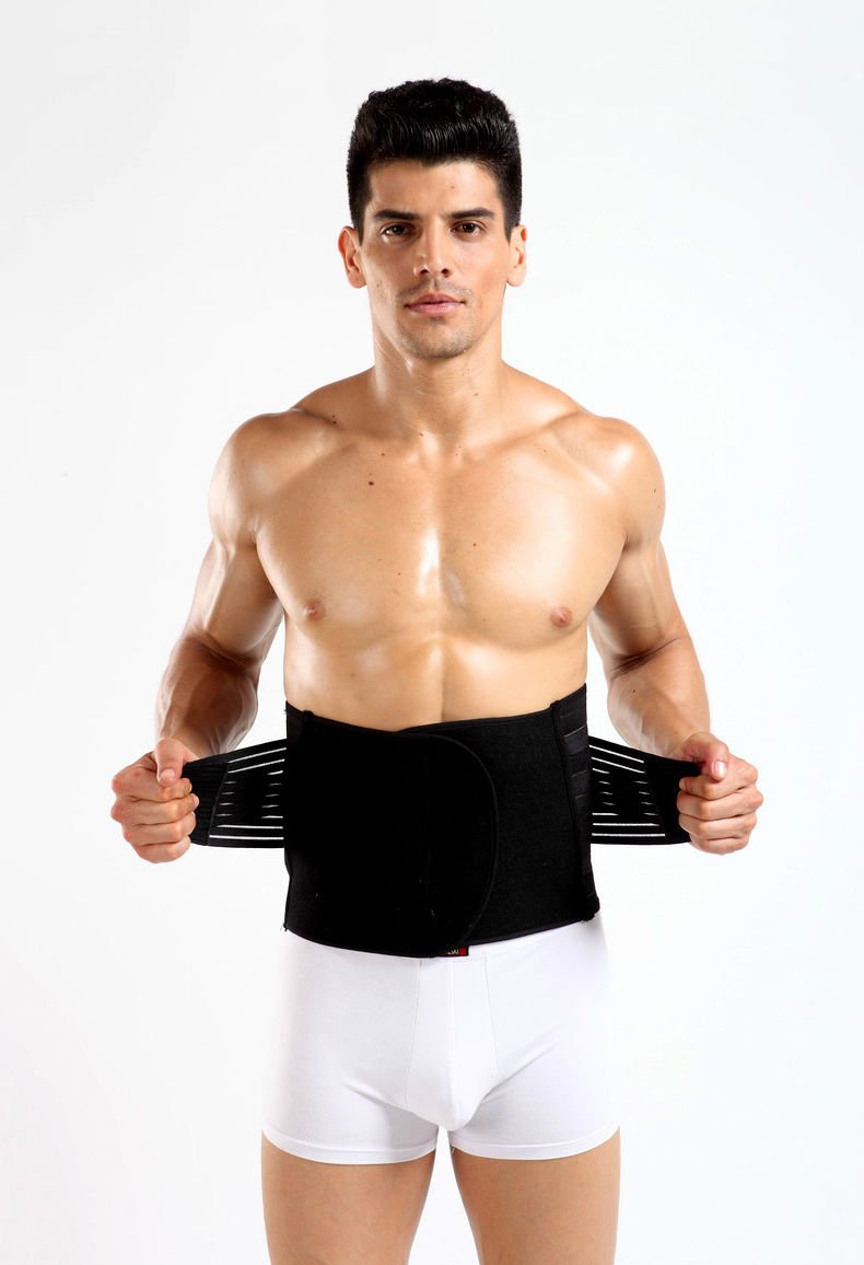 MEN'S Flexibility Stomach Slimming Belt Tummy Trimmer Body Shaper Muscle Belt
