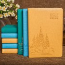 2017 Schedule Planner Hard Cover Daily Monthly Diary Writing Lined Journal 1PC