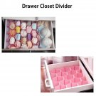 Honeycomb Drawer Divider Storage Box Tie Belt Jewelry Sock Organizer Pink