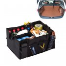 Big Black Car Seat Organizer Travel Storage for Ipad, Books, Tools, Toys, Drinks