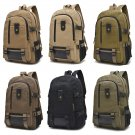 """Comfortable Canvas Backpack for 14"""" Laptop - Camera, Book School Bag with Pocket"""