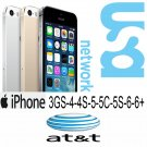 **FAST** AT&T USA Unlocking ALL iPhones OFFICIAL FACTORY UNLOCKING FAST SERVICE CLEAN