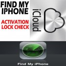 ** FAST ** iCloud Activation Lock Check Find My iPhone Activate or Deactivate