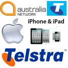 ** FAST ** Telstra Australia Unlocking iPhone 3GS,4,4S,5,5C,5S,6,6+ FAST OFFICIAL FACTORY UNLOCKING