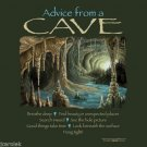 Cave T-shirt Unisex Advice Green Gildan Various Sizes 100% Cotton S M L XL 2XL