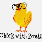 Chick Garden Bird Brain Smart T-shirt S M L XL XXL NWT NEW Soccer Volleyball