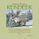 Christmas Advice From a Reindeer T-shirt Unisex S-M-L-XL-2XL NWT Forest Animals