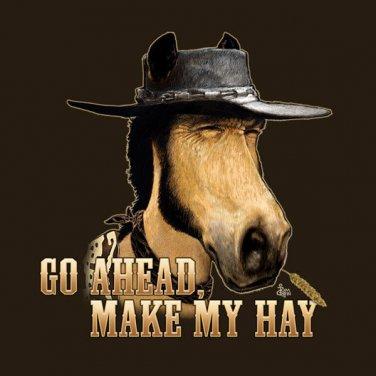 Adult T Shirt Unisex Horse Cotton Gildan Short Sleeve NWT Horse Brown Various