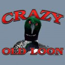 Crazy Old Loon T-shirt Unisex S-M-L-XL-2XL New with Tags Crafty Fun Birds Duck