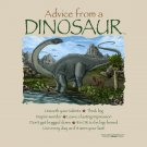Advice Dinosaur T-shirt Various Prehistoric NWT Cotton Short Sleeve Sand Gildan